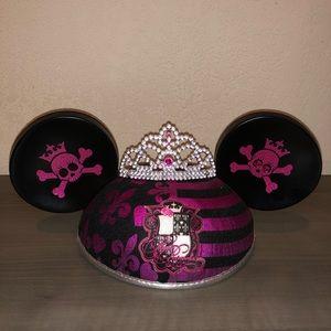 Disney Mickey Ears Hot Pink Pirate Princess